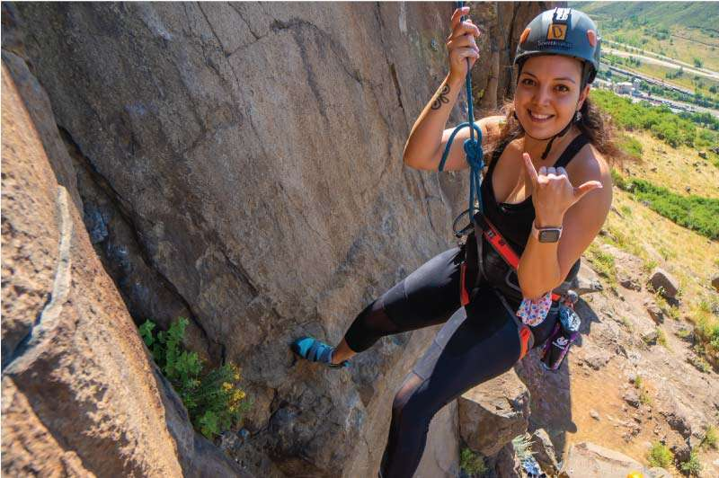 Intro to Outdoor Climbing