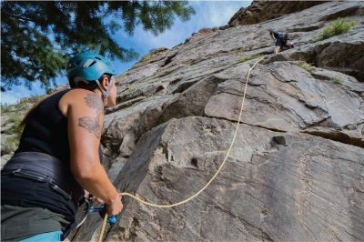 Lead Climibng Belay