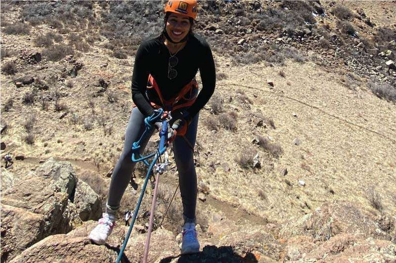 Learning to Rappel near Denver
