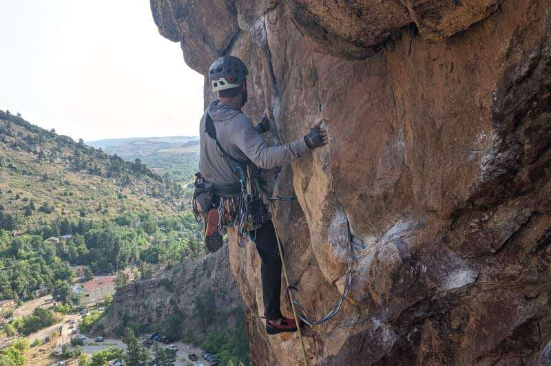 Climbing a Multipitch