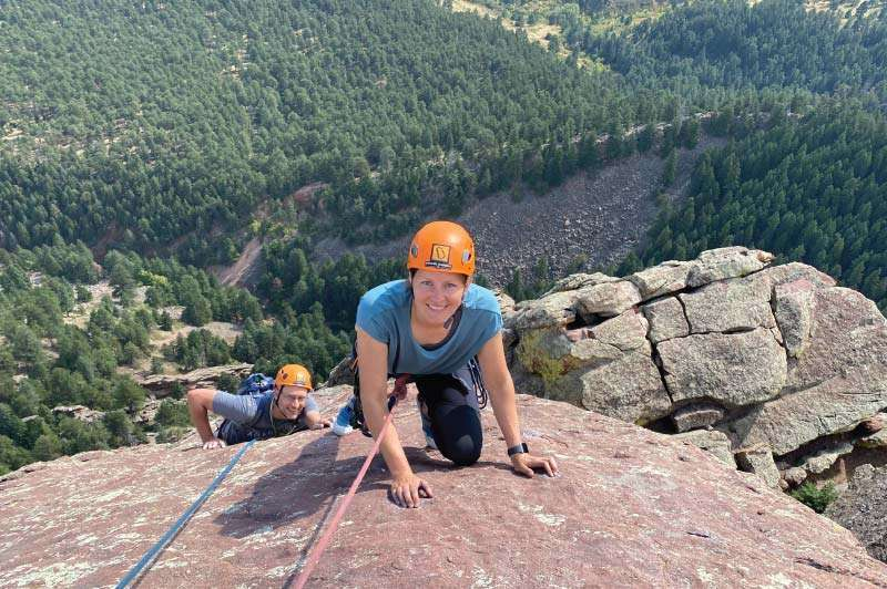 Climbing the Third Flatiron