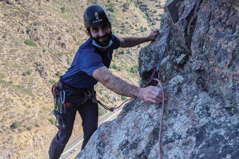Lovers Leap Climbing Guide