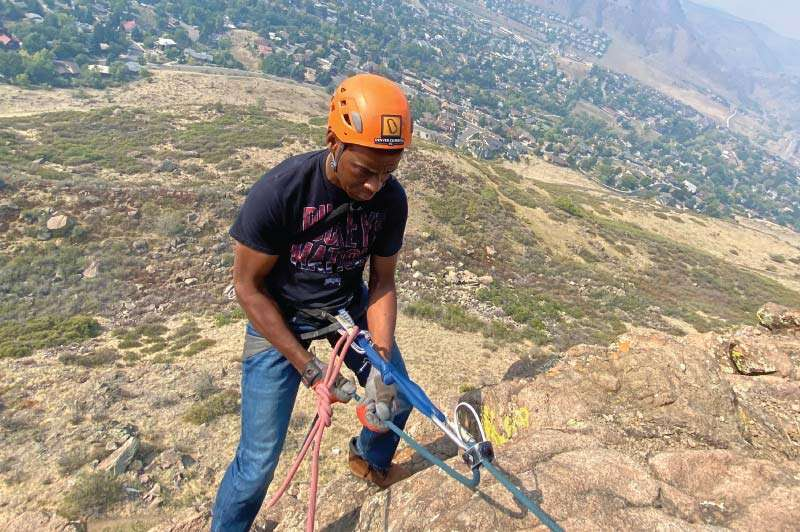 Learn to Rappel in Colorado